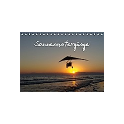 Sonnenuntergänge (Tischkalender 2021 DIN A5 quer)