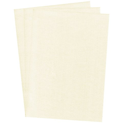 Perlmuttpapier, creme, 21 x 29,7 cm, 10 Blatt