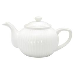 Greengate Alice Teekanne Weiß