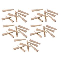 Hufa Buche Holz Fliesenkeile 250 Stück