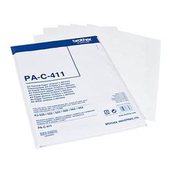 brother PAC411 weiß Thermopapier 100 Blatt