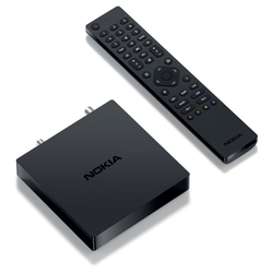 Nokia 6000 - Receiver - schwarz DVB-T2 Receiver