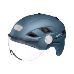 """KED Fahrradhelm Fahrradhelm """"B-VIS X-Lite"""" blau L"""