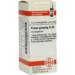 Panax Ginseng D 30 Globuli