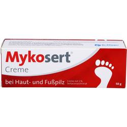 MYKOSERT Creme bei Haut- und Fußpilz 50 g