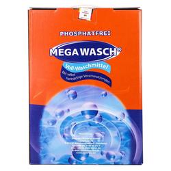 MEGA WASCH Vollwaschmittel, Phosphatfrei und Anti-Kalk-Formel