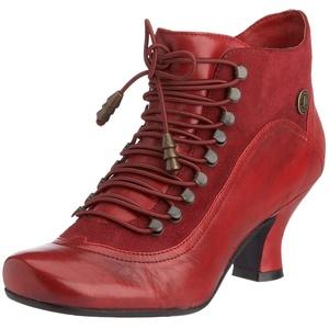 Hush Puppies Vivianna, Damen Kurzschaft Stiefel, Rot, 37 EU