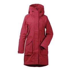 Didriksons Thelma Women's Parka 3 element red - Regenparka rot 34 element red