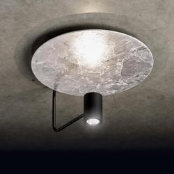 Disc Deckenleuchte - Reflektor Struktur Weiß - Armatur Struktur Weiß