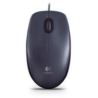 Logitech M90 Optische Maus schwarz (910-001794)
