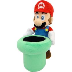 Nintendo Plüschfigur Mario mit Rohr