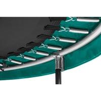 396 cm inkl. Sicherheitsnetz schwarz/grün