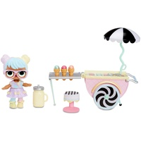 MGA Entertainment L.O.L. Surprise! Furniture Ice Cream Pop-Up with Bon Bon,