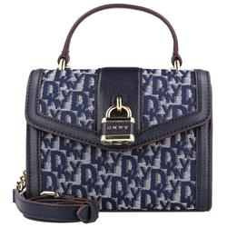 DKNY Ella Mini Bag Handtasche 18 cm navy/navy