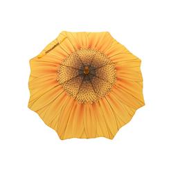 ROSEMARIE SCHULZ Heidelberg Stockregenschirm Kinderregenschirm für Mädchen Regenschirm Motiv Sonnenblume, Mädchenschirm mit Motiv