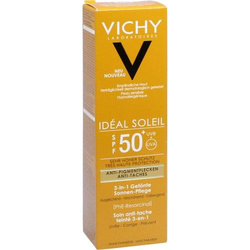 VICHY IDEAL Soleil Anti-Pigmentflecken Cr.LSF 50+ 50 ml