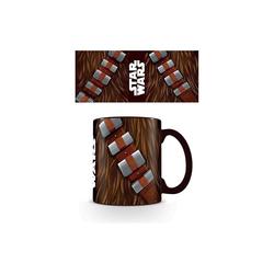 Star Wars Tasse Tasse koloriert Star Wars Chewbacca Torso, 315 ml schwarz