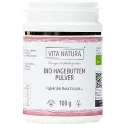 HAGEBUTTEN PULVER Bio 100 g