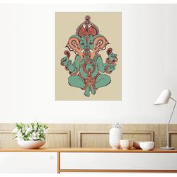 Posterlounge Wandbild, Ganesha 70 cm x 90 cm