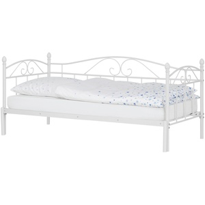 Basispreis* Tagesbett mit Auszug 180x200 - weiß Harrow ¦ weiß ¦ Maße (cm): B: 208 H: 91 T: 99,3