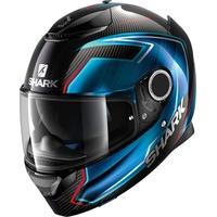 SHARK Race-R Pro Guintoli Carbon-Chrom/Blue