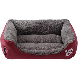 Roblue Hundebett für Hunde, Katzen, Kleintiere, in Bonbon-Farbe, waschbar, weich, warm, aus Stoff