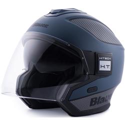 Blauer Solo Straal helm, blauw, S