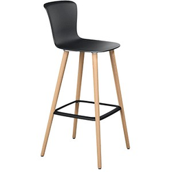 sedus se:spot stool Barhocker schwarz