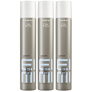 Wella EIMI Absolute Set Haarlack ultra stark 3 x 500 ml Styling Fixing Hairspray Finishing Spray Professionals