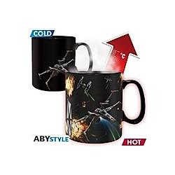 ABYstyle - Star Wars - Space Battle Thermoeffekt Tasse