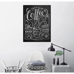 Posterlounge Wandbild, Frischer Kaffee 70 cm x 90 cm