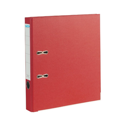 Ordner rot A4 50mm austauschbares Rückenschild