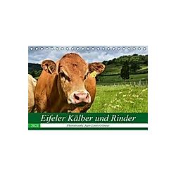 Eifeler Kälber und Rinder (Tischkalender 2021 DIN A5 quer)