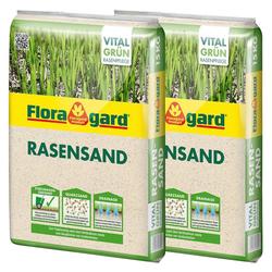 Floragard Quarzsand Rasensand, 2x15 Kg
