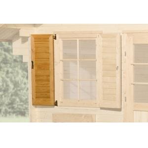 Weka Fensterladen 1-Seitig, f.Fenster 84 x113cm