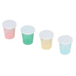 PE-Deckel für Einweg-Medizinbecher, Plastikdeckel für Medizinbecher, 1 Beutel = 500 Stück