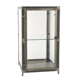 Ib Laursen Wandregal Glasschrank Glasvitrine Vitrine Regal Schränkchen Glas Metall Laursen 31006-25