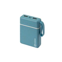 sbs SBS Powerbank 25000 mAh 2.1A, 1x Micro USB, 1x USB C - Power Bank zu 35% biologisch abbaubar mit intelligenter Ladesteuerung Powerbank