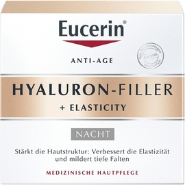 Eucerin Hyaluron-Filler + Elasticity Nachtcreme 50 ml