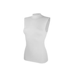 Pompadour Unterhemd (2 Stück), mit Stehkragen, Modal-Qualität weiß 48