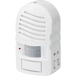 PENTATECH Bewegungsmelder ZM02 Weiß 85 dB 33302