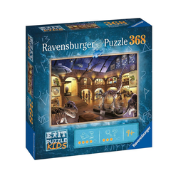 Ravensburger Puzzle Puzzle EXIT KIDS Nachts im Museum, 368 Teile, Puzzleteile
