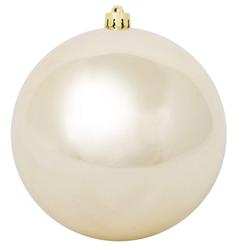 Weihnachtskugel 30 cm gold