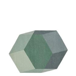 Iso Teppich Hexagon Grün  Puik