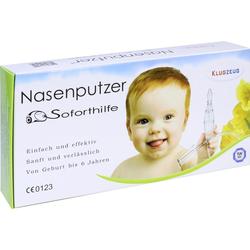 Klugzeug Nasenputzer Soforthilfe Nasensauger
