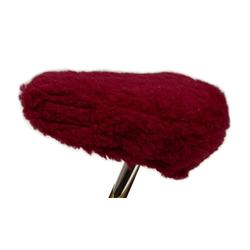 Licardo Sattelschoner Fahrradsattelbezug Sattelschoner Wolle onesize rot