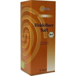 HEIDELBEER 100% Direktsaft Bio 500 ml