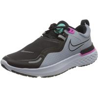 Nike React Miler Shield W obsidian mist/aurora green/fire pink/black 40