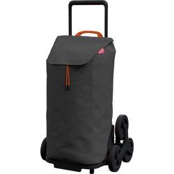 Gimi Einkaufstrolley gimi Tris, 52 l, mit 3-Rollen-System für leichtes Treppensteigen grau