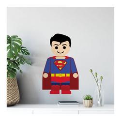 Wall-Art Wandtattoo Spielfigur Superheld Superman (1 Stück) 24 cm x 40 cm x 0,1 cm